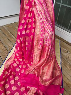 Georgette Banarasi Saree - bengal looms