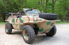 1943 VW Schwimmwagen German Military Amphibious Vehicle Totally Restored type166