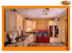 #MilwaukeeWindowInstallation Home Laundry Room Cabinets