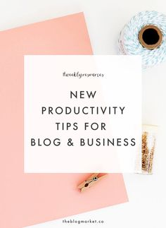Blog Productivity Ti