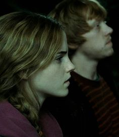 Harry Potter and the Deathly Hallows Pt. 2 - Hermione and Ron Harry James Potter, Saga Harry Potter, Harry Potter Pictures, Harry Potter Universal, Harry Potter Movies, Harry Potter World, Hogwarts, No Muggles, Dr Who