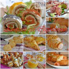 Antipasti veloci per Capodanno Finger Food Appetizers, Holiday Appetizers, Finger Foods, Holiday Recipes, Appetizer Buffet, Appetizer Recipes, Dessert Recipes, Xmas Food, Christmas Cooking