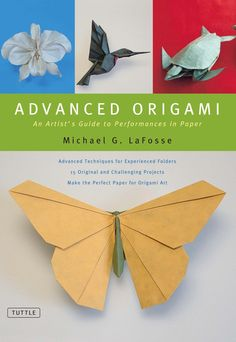 Take your paper folding to an advanced level with this user-friendly origami book.From shimmering hummingbirds to magnificent bats, from a stunning panther mask to graceful sea turtles, Michael G. Lafosse's complex and beautiful origami projects are well known around the world. Focusing on models from nature, Advanced Origami provides unparalleled instruction on how to create master-class level 3D origami paper folding projects.  Sophisticated origami or paper crafts fans will appreciate…