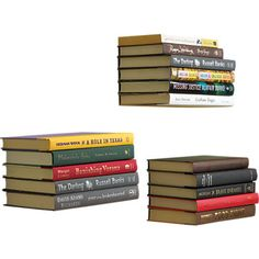 Floating bookshelves for any home! Cool way to store books and mystify your friends - $13.50