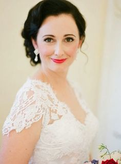 Gorgeous bridal hair and makeup. Photo by Jemma Keech Photography. www.wedsociety.com #hair #makeup