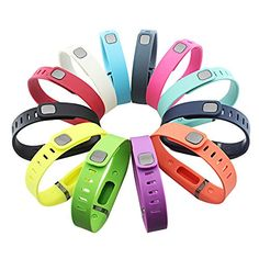 GinCoband 12PCS Fitbit Flex Wristband Replacement Accessory with Clasp For Fitbit Flex Bracelet Sport Arm Band No tracker (set of 12, Large) >>> Click image for more details.