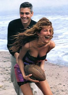 Gisele Bundchen & George Clooney