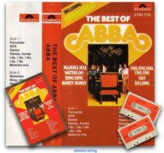 """ABBA Fans Blog: """"The Best Of Abba"""" Cassette #Abba #Agnetha #Frida http://abbafansblog.blogspot.co.uk/2016/08/the-best-of-abba-cassette.html"""