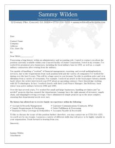cover letter example for shipping receiving professional - Sample Cover Letter For A Resume