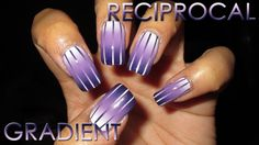 Reciprocal Gradient   DIY Nail Art Tutorial