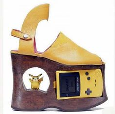weird shoes #gameboycolor #pokemon