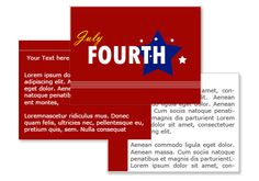 July 4th PowerPoint Template – 4th of July Powerpoint