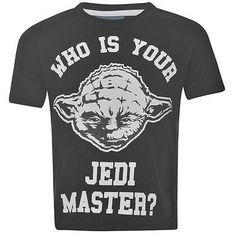 Boys Star Wars Yoda Jedi Master short sleeved t shirt