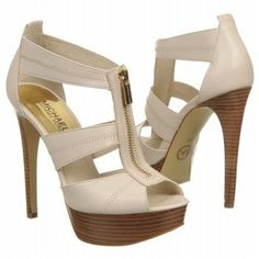 Women's MICHAEL MICHAEL KORS Berkley Platform Vanilla Leather --- Gotta have these for Summer!
