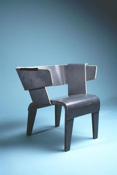 Gerrit_Rietveld_Danish_Arm_Chair | sleekdesign.canalblog