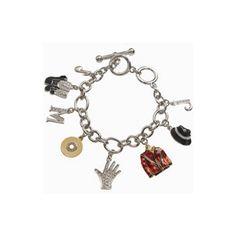 michael jackson necklace glove pendant | Michael Jackson charm bracelet - Polyvore