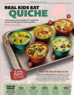 Quiche by Parenting magazine