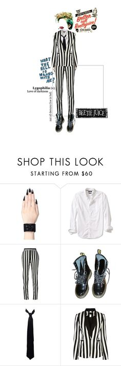 """< BeEtlEJuiCe >"" by avintagemystery ❤ liked on Polyvore featuring Banana Republic, Givenchy, Dr. Martens, Balenciaga and Karen Millen"