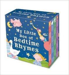 My Little Box of Bedtime Rhymes • English Wooks