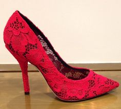 Dolce&Gabbana #Shoes #woman #red #FallWinter #collection