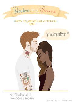 Pardon My F***** - Vaimiti Tragin: Design & Illustration Apprendre* les jurons français à l'aide d'illustrations (*aux anglophones)