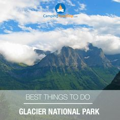 Glacier National Park is home to some of the world's most breathtaking scenery. For outdoor lovers, forests, lakes, mountains, and glacial-carved valleys! This national park has over 1,000 different animal species, & over 100 lakes! Camping road trip anyone?