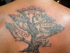 Family tree tattoo #familytattoosformen