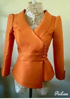 Elegant Dresses Classy, Stylish Dresses For Girls, Classy Dress, Latest Dress Design, Stylish Blouse Design, Kimono Fashion, Fashion Pants, Fashion Outfits, Myanmar Dress Design