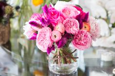 Dress up a plain glass vase with twine, ribbon, or lace to give it some character.