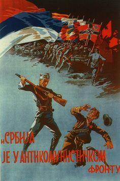 Serbian pro-Nazi and anti-communist propaganda (World War 2)