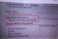 Funny pictures about Medical advice after release from emergency room. Oh, and cool pics about Medical advice after release from emergency room. Also, Medical advice after release from emergency room. Rn Humor, Medical Humor, Nurse Humor, Medical Advice, Pharmacy Humor, Radiology Humor, Funny Medical, Med Student, Funny