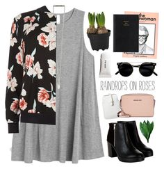 walking on a dream by sierrasaphira on Polyvore featuring RVCA, New Look, Michael Kors, Mossimo and Prada
