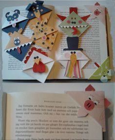 octopus corner bookmarks two paper corner bookmark by gotkandi on 2566