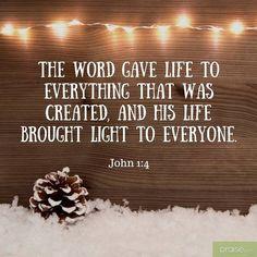 Light. Amen...Mildred Williams  Thank You God!!!