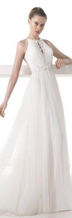 Novias con mucho pecho, ¡encuentra el vestido ideal!