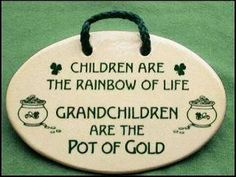 I saw this and thought of my sister-in-law :) who is expecting 2 grandchildren this year and my aunt on my husband's side who is also expecting 2 grandchildren this year :)  How AWESOME!!!!