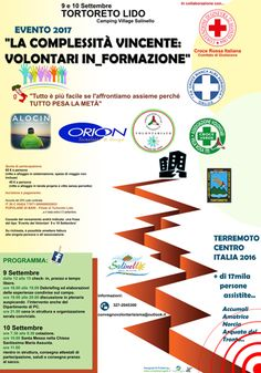 La Complessità vincente: Volontari in_formazione a Tortoreto
