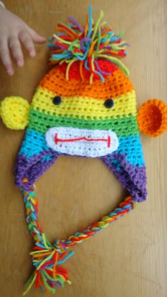 Sock Monkey by LittlestYarnShop, $10.00