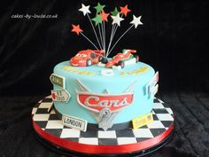 disney pixar cars cakes | Cars 2 cake - by cakesbylouise @ CakesDecor.com - cake decorating ...