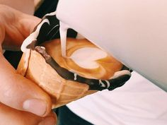 Is this the country's most Instagrammable coffee? A Melrose Arch café is serving macchiatos in ice-cream cones http://www.eatout.co.za/article/countrys-instagrammable-coffee-melrose-arch-cafe-serving-macchiatos-ice-cream-cones/