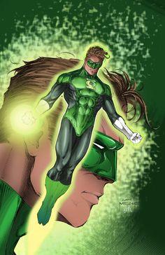 Green Lantern Art: Jason Metcalf Colors: Jeff Balke (me) Green Lantern Dc Comics Superheroes, Dc Comics Characters, Dc Comics Art, Marvel Dc Comics, Superhero Characters, Green Lantern Hal Jordan, Green Lantern Corps, Green Lanterns, Comic Books Art