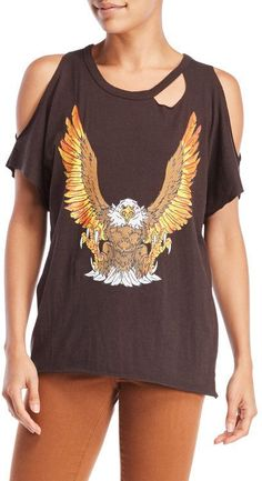 Chaser Eagle Rock Distressed Tee