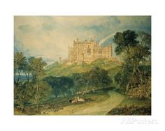 View of Belvoir Castle, 1816 by Joseph Mallord William Turner