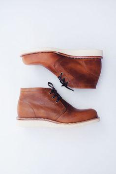 """Chippewa 1955 Original Suburban Chukka Boots. Based on an original Chippewa style from 1955. Originally marketed as """"The Boots For Active Living"""".  #originalchippewa"""