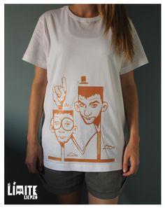 T-shirts collection, Al límite del lienzo 1