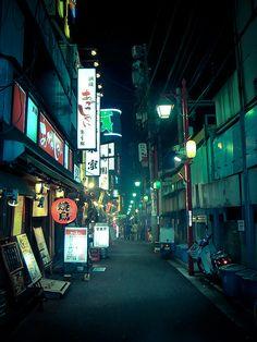 This is 日本 Japon Tokyo, Shinjuku Tokyo, Neo Tokyo, Night Aesthetic, City Aesthetic, Urban Photography, Street Photography, Thriller, Concept Art Tutorial