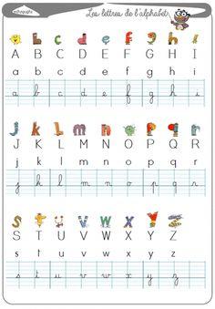 alphabet lesson – La Fouine en clis English, learn english as a child, ea… Alphabet A, Learn French, Learn English, English English, Maternelle Grande Section, Autism Education, French Lessons, English Lessons, Teaching French
