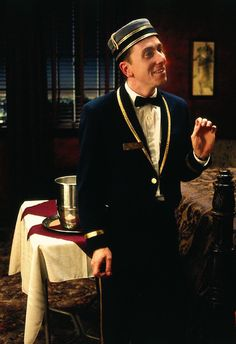 Tim Roth Room 309 Ted the bellhop Four Rooms