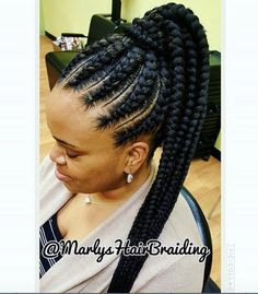 Flawless braids by @marlyshairbraiding - https://blackhairinformation.com/hairstyle-gallery/flawless-braids-marlyshairbraiding/