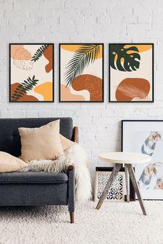 Diy Canvas Art, Modern Canvas Art, Modern Art Prints, Abstract Wall Art, Wall Art Prints, Art Deco Print, Art Prints For Home, Botanical Prints, Art Decor